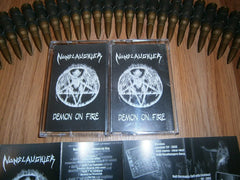 NUNSLAUGHTER - Demon On Fire. Tape