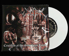 "RITUAL - Crucified at the Southern Lands 7"" Die Hard White EP"