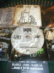 HADEZ / INRI / NAHUAL - ... Death Live Impalement. 3 Way SPLIT CD