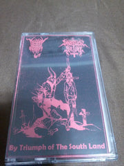 BLACK ANGEL / DIABOLICAL TORTURE - By Triumph of the South Land. Split Tape.
