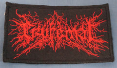 CRYFEMAL Embroidered Logo Patch