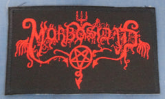MORBOSIDAD Embroidered Logo Patch