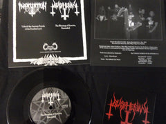 "BLASPHERIAN / IMPRECATION - 7"" Split EP"
