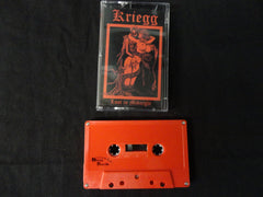 KRIEGG - Lust In Midnight. Tape
