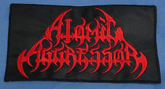 ATOMIC AGGRESSOR - EMBROIDERED  BACK PATCH