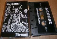 SABBAT - Sabbatical Demon. Tape