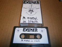 EXUMER - A Mortal In Black. Tape