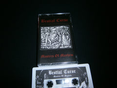 BESTIAL CURSE - Masters of Mayhem. Tape