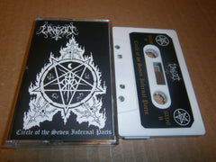 UNGOD - Circle Of The Seven Infernal Pacts. Tape