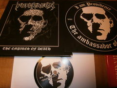 "PUTERAEON - The Empires Of Death. 7"" EP Vinyl"