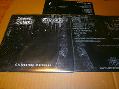 "SARDONIC WITCHERY / TUNDRA - Celebrating Darkness. 7"" Split EP Vinyl"