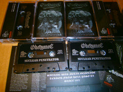 OBEISANCE - Nuclear Penetrator. Tape