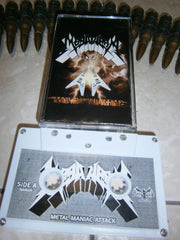 MEGAHERA - Metal Maniac Attack. Tape