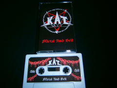 KAT - Metal and Hell. Tape