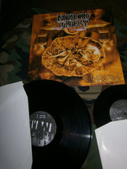 "NAUSEOUS SURGERY - Immortal Warriors. 12"" LP + 7"" EP As Bonus."
