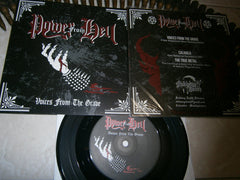 "POWER FROM HELL - Voices From The Grave. 7"" EP"