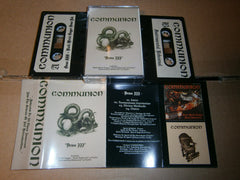 COMMUNION - Demo III + Black Metal Dagger Demo + Instrumental Reh. Tape