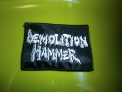 DEMOLITION HAMMER - Embroidered Logo Patch