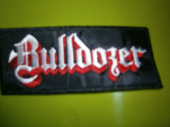 BULLDOZER - Embroidered Logo Patch