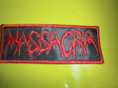 MASSACRA - Embroidered Logo Patch