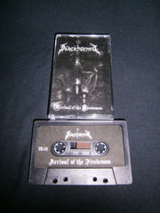 BLACKHORNED - Arrival of the Firedemon. Tape
