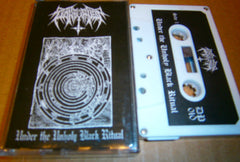 NOKTURNAL - Under The Unholy Black Ritual. Tape