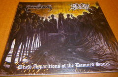 POISONOUS / DAEMONIC - Death Apparitions Of The Damned Souls. Digipak Split CD