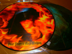 "INFERNAL LEGION - Your Prayers Mean Nothing. 12"" Picture LP Vinyl"