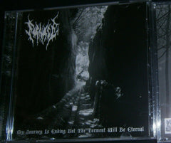 FORNACE - My Journey is Ending But the Torment Will Be Eternal. CD