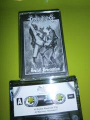 DEATH'S COLD WIND - Bestial Penetration. Tape