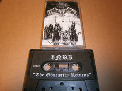 INRI - The Obscurity Returns. Tape
