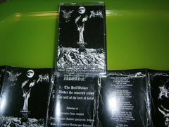 BLACK ANGEL / ZABULON - Crudo y Blasfemo Cantico en Ritual Negro.......... Split Tape