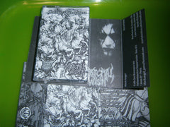 BLACK ANGEL / MORTAL WISH - Satanic Apocalypse. Split Tape