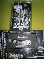GUERRA TOTAL - No Left, Not Right, Just Zombies in the Night. Tape