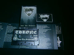 THRONE - Into The Grimness. Tape