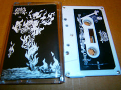 GRAVE THRONE - Burning The Flesh And Bones Of Christ. Tape
