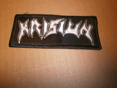 KRISIUN Embroidered Logo Patch
