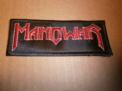 MANOWAR Embroidered Logo Patch