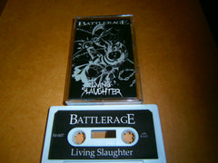 BATTLERAGE - Living Slaughter. Tape