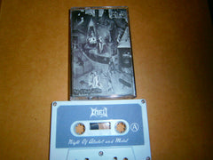 KNELL - Night of Alcohol and Metal. Tape