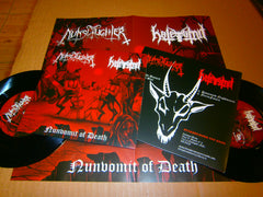 "NUNSLAUGHTER / HATEVOMIT - Nunvomit Of Death. 7"" Split EP Vinyl"