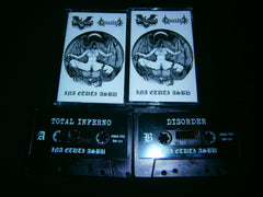 TOTAL INFERNO / DISORDER - Ina Etuti Asbu. Split Tape.