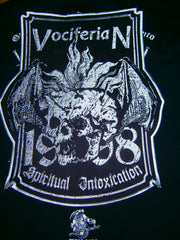 VOCIFERIAN - Spiritual Intoxication. Full Embroidered Back Patch.