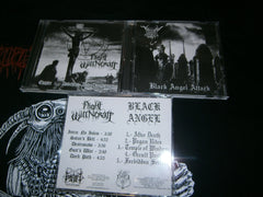 BLACK ANGEL / NIGHT WITCHCRAFT - Chapter 1: Anti Christ and Blasphemy. Split CD