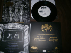 "EVIL SPECTRUM - Evocations Upon Ascending Flames. 7"" EP"