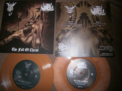 "BLACK ANGEL / UNHOLY ARCHANGEL - The Fall of Christ. 7"" Split EP"