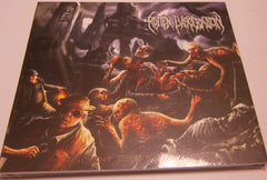 ROTTEN EVISCERATION - Ancient Grave Ascension. Digipak CD