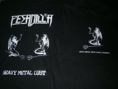 PESADILLA - Heavy Metal Lust T-Shirt