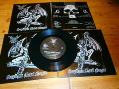 "BLACK ANGEL - Supremo Metal Negro. 7"" EP"