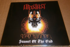 APOSTASY - Sunset Of The End. Digipak CD